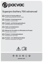 Superpro battery 700 advanced manual